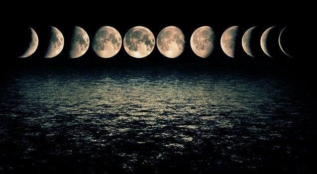 月の満ち欠けと気分