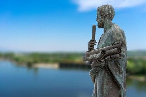 アリストテレス像