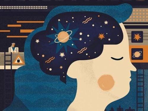 女性と宇宙