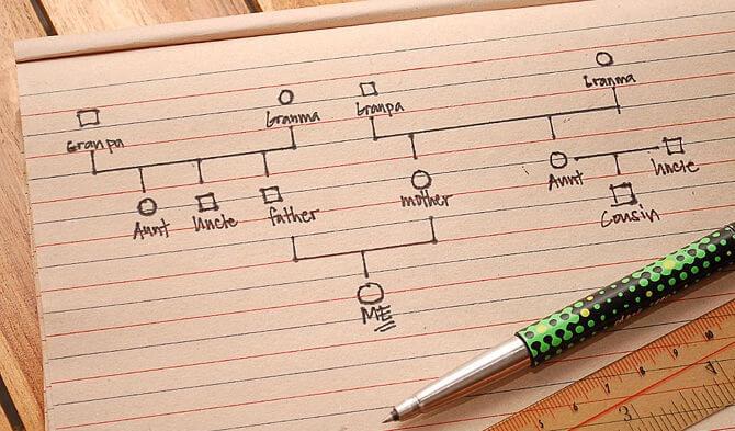 ジェノグラムの作り方