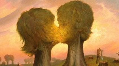 ロマンチックな愛の発展