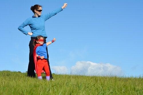 スーパーママに守られた子ども