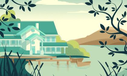 主のいない家の美しい寓話