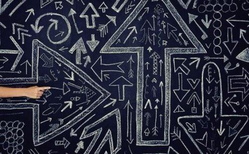 カオス理論と矢印