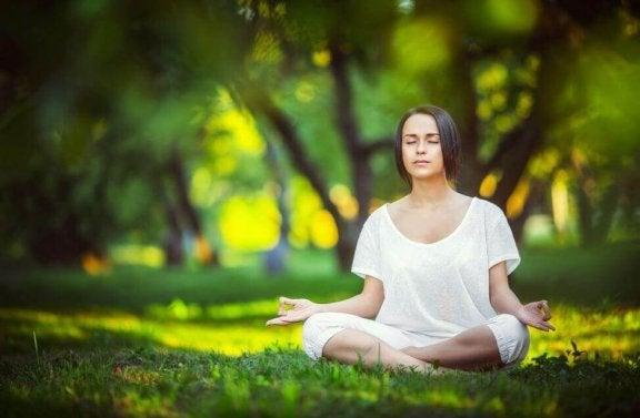 簡単瞑想エクササイズ