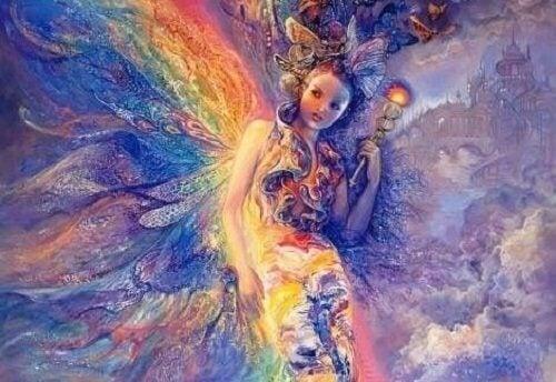 感情の起源と妖精