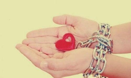鎖と自分との関係