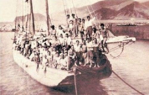 移民のボート