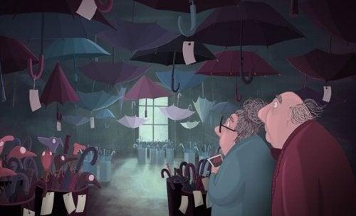 失くし物:吹き荒れる風を乗り越えるという人生の仕事