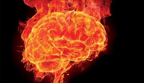 オーバーヒート状態の脳