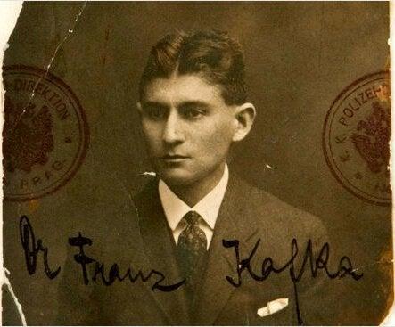 フランツ・カフカとサイン