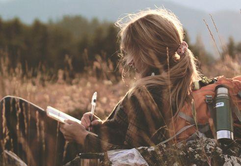 未来の私へ手紙を書く
