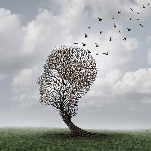 頭の形の木