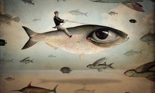 魚を操る人