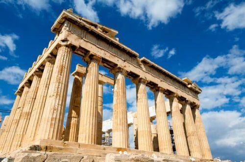 ギリシャの神殿