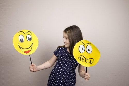 感情を選ぶ子供