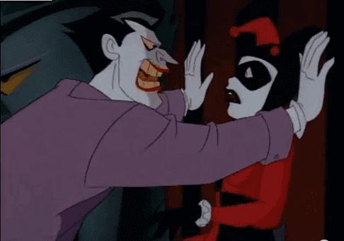 ジョーカーがハーレイ・クインに話す