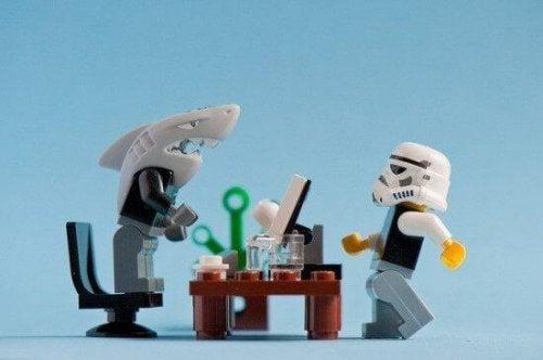 レゴの職場