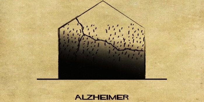 精神障害を家に例えると アルツハイマー病