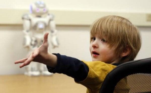 自閉症 子ども ロボット