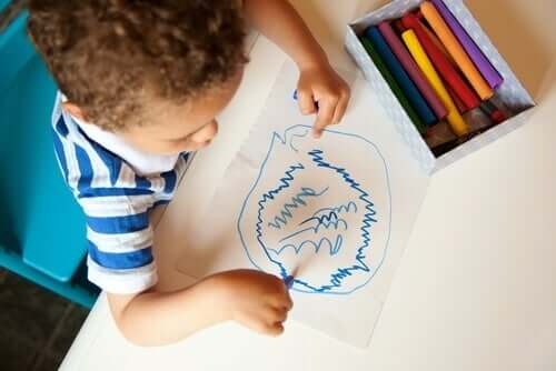 落書き:子どもたちの秘密の言葉