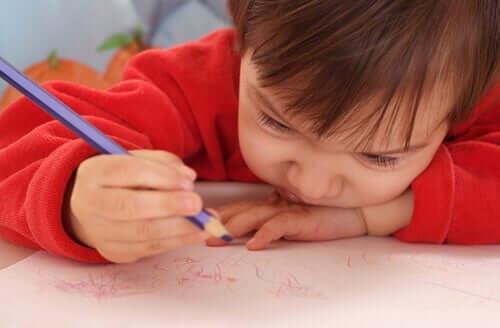 落書き 子ども 秘密の言葉