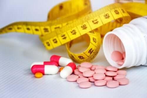 向精神薬の副作用によって起こる体重増加について