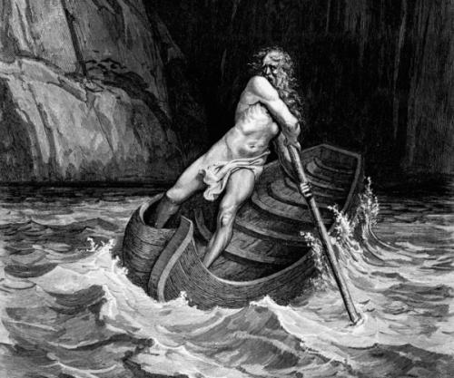 冥界の渡し守カローンの神話