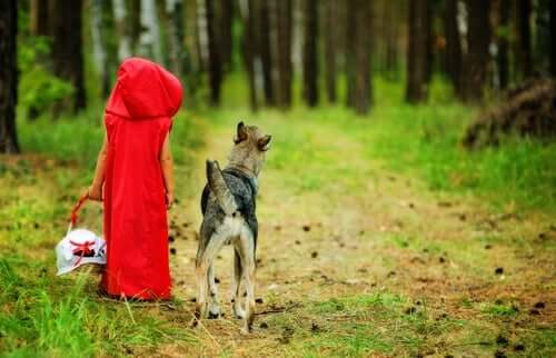 赤ずきんちゃんのオオカミは悪者ではない?
