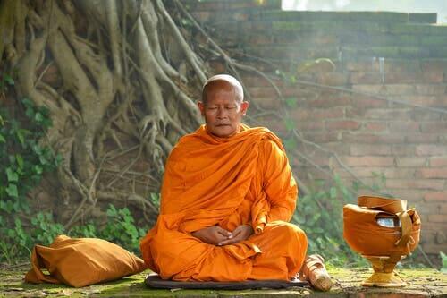 科学者 チベットの僧侶