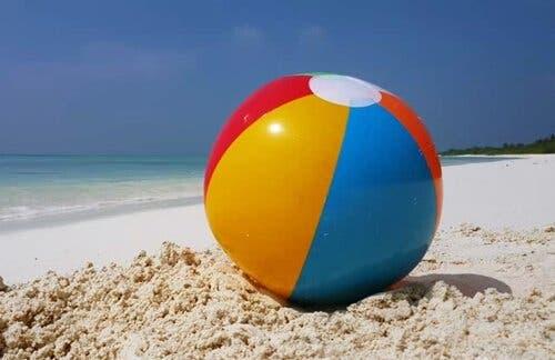 感情制御のためのビーチボールのメタファー