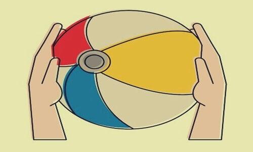 感情制御 ビーチボール メタファー