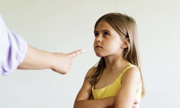 子どもを責める 育児スタイル