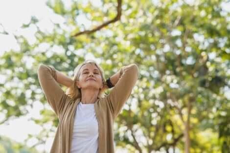 自然 ストレス解消