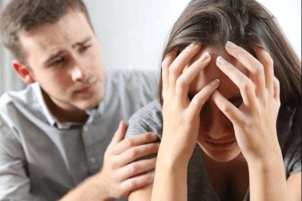 恋愛関係におけるうつ病:欠乏を補うための恋愛