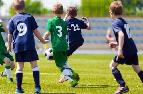 チームスポーツ 個人の成長